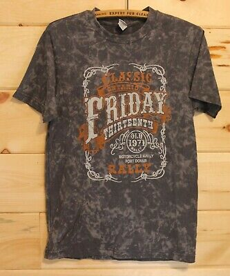 Port Dover Canada Friday The 13th T-Shirt 2012 Motorcycle Rally Size Small + for sale  Canada