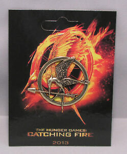 The Hunger Games Catching Fire Badge Brooch Pin Mockingjay Xmas Gift Katniss