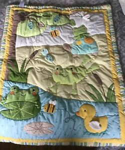 """Carter's """"In the Pond"""" baby bedding"""