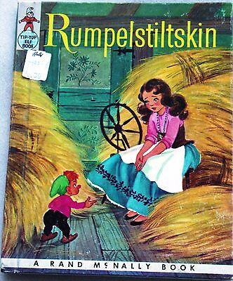 "VINTAGE 1959 ~ Children's Book ""RUMPELSTILTSKIN"" BY TIP-TOP ELF BOOKS"