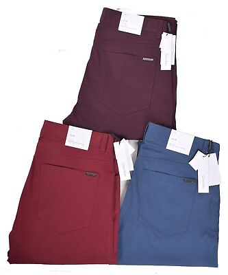 对于出售 Calvin Klein Jeans Men's Slim Fit Casual Pants Choose Size & Color