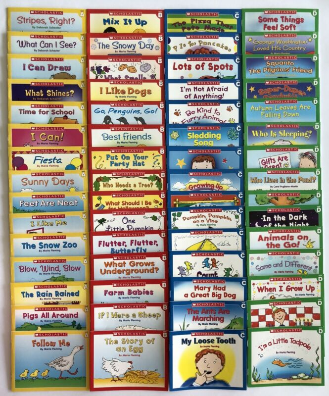 Childrens Learn to Read Books Kindergarten First Grade Award-WInning Lot 60
