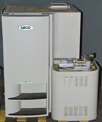 Leco Truspec Cn Elemental Determinator 630-100-500 Analyzer Carbon Nitrogen
