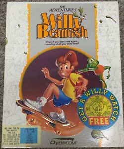 "The Adventures of Willy Beamish 1991 PC 3.5"" Game"