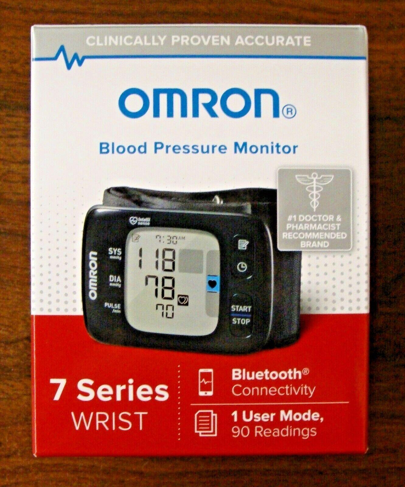 New In The Box OMRON 7 Series Wrist Blood Pressure Monitor B