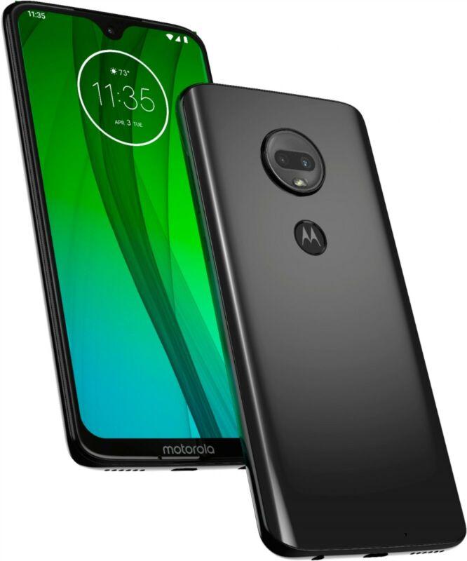 Motorola Moto G7 64gb Black XT1962-1 (Unlocked) Verizon, At&t T-Mobile NG9290