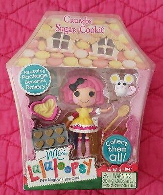 Lalaloopsy Mini Doll Crumbs Sugar Cookie New/Retired](Sugar Crumbs Lalaloopsy)