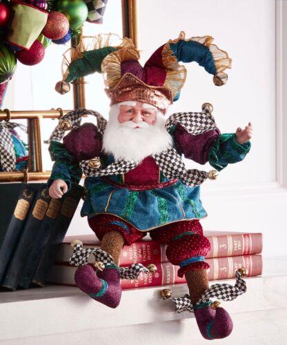 "MacKenzie-Childs Have A Seat Santa 26"""