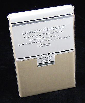 Bulk Buy Wholesale Cheap Bedding - 10 Pairs (20pcs) of PLAIN MOCHA Pillow Cases