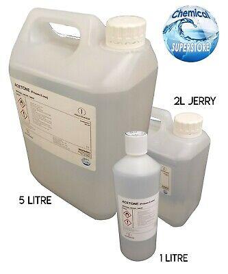 Pure Acetone - Ideal For Salon Use - 500ml - 1L - 25L