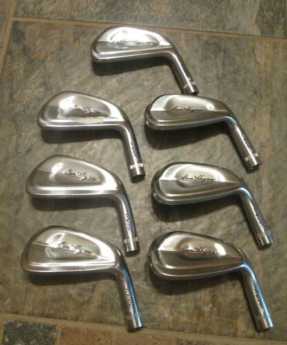 Ben Hogan Ft. Worth Forged 4-PW heads only .355 Righthanded Used