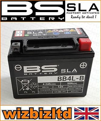 BS Motorbike SLA Sealed Battery Yamaha [50cc] Original [ALL Years] BB4L-B for sale  Corby