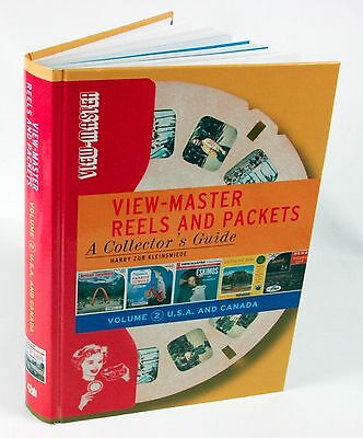 viewmaster - BOOK -View-Master Reels & Packets Vol 2 - US & Canada