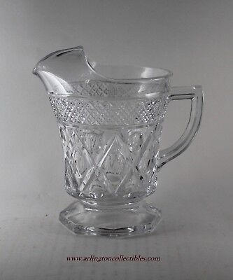 """💥 IMPERIAL ☆ 6"""" Tall CAPE COD Crystal Pint Pitcher"""