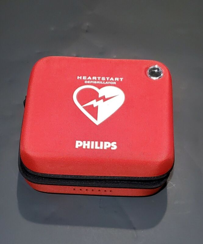 Philips HeartStart OnSite AED Defibrillator Business Package with Slim AED Carry