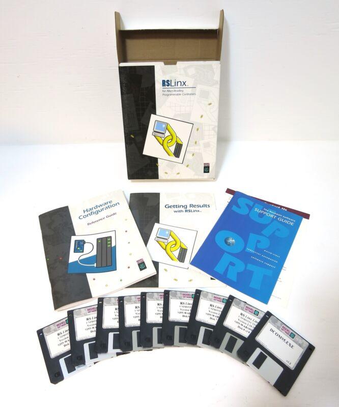 Allen Bradley 9355WAB100END RSLinx Lite PLC Software Rev 2.10.18 9355-WAB100END