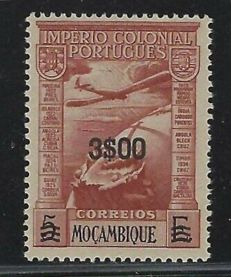 1946 Mozambique Scott #C10 - Surcharged 3e on 53 Air Mail Stamp - MNH