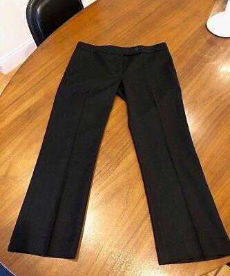 Jo No Fui black wool pants sz 42 Italian