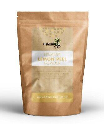 Premium Lemon Peel Powder - Face Cleansing   Cosmetic & Food Grade  100% Natural