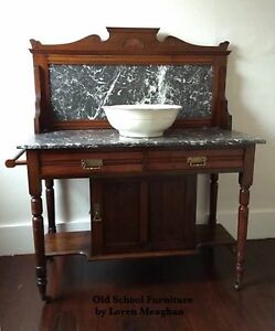 Antique Edwardian Washstand
