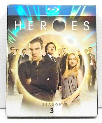 Heroes: Season 3 Blu-ray Quinto Oka Pasdar Milo Hayden Sendhil