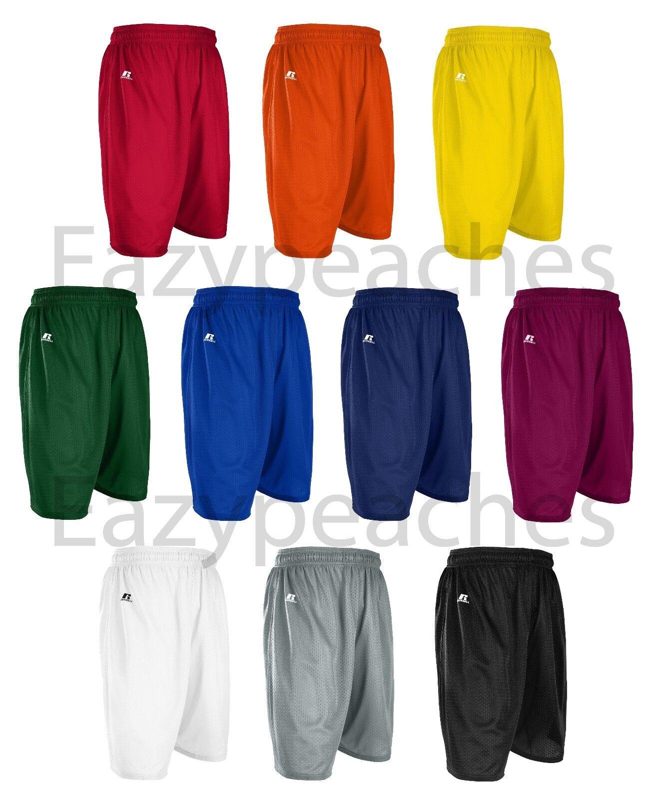 Russell Athletic - Men's S-XL 2X 3XL Mesh Shorts Gym, Basket