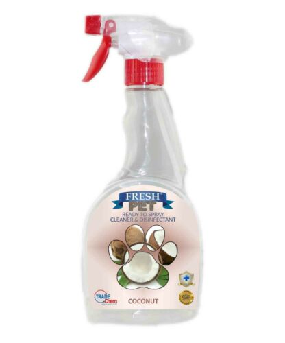 Fresh Pet Cleaner Paw friendly, kills 99.9% germs 500ml Ready to Spray - Coconut