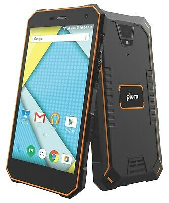 Plum Gator 4 - Rugged Unlocked Smart Cell Phone 4G GSM Android IP68 ATT Tmobile -