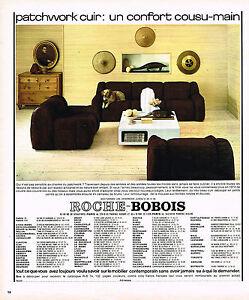 Publicite advertising 104 1974 roche bobois fauteuils for Ebay canape roche bobois