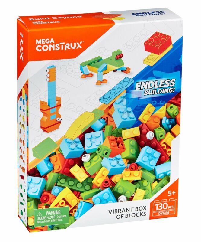 Mega Vibrant Box Of Medium Blocks, Multi Color