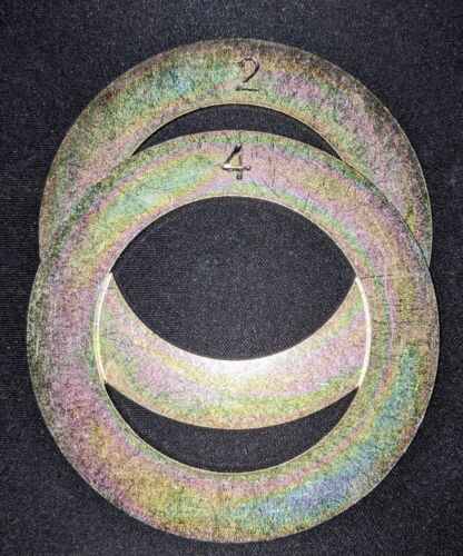 """ProPlugger Replacement Depth Ring Set (1 ea. 2"""" and 4"""" Ring)"""