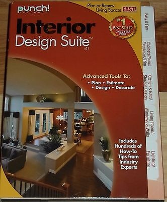 Brand New Punch Interior Design Suite V17 Plan or Renew Living Spaces Free Ship