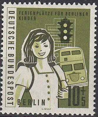 BRIEFMARKE 1960 BERLIN 194 POSTFRISCH MIT GUMMI FERIENPL TZE F R BERLINER KINDER