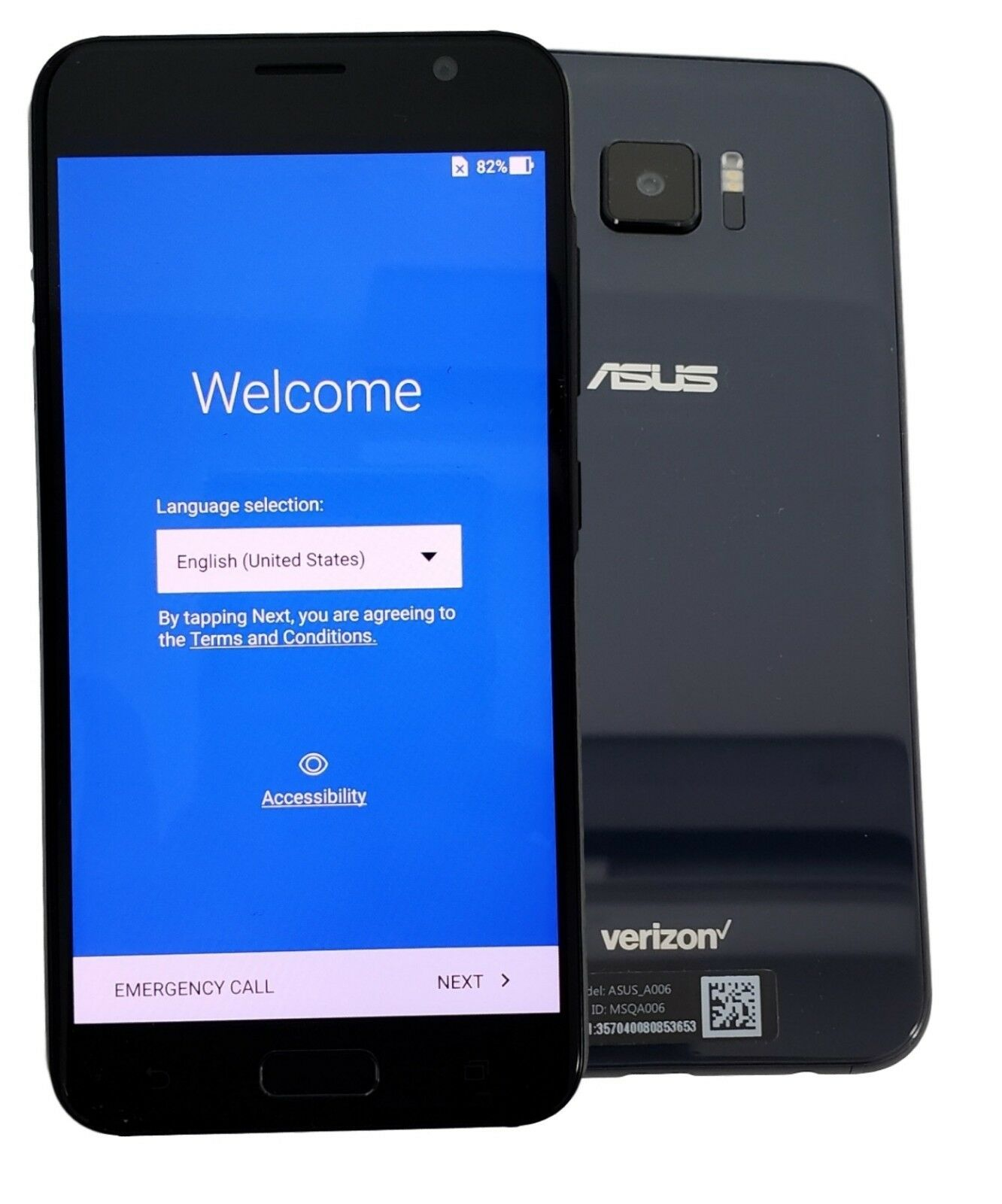 Android Phone - ASUS ZenFone 5 V A006 V520KL 32GB Black Verizon Unlocked Smartphone Cell Phone