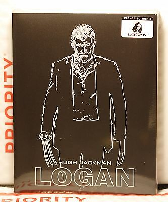 New Logan Blu Ray Full Slip Pet Slip O Ring Steelbook  Filmarena Fac Edition 3