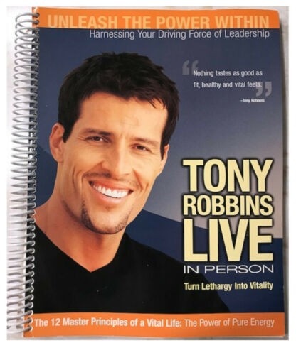 Tony Robbins: Unleash the Power Within UPW Workbook in English