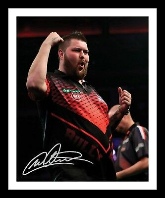 MICHAEL SMITH AUTOGRAPHED SIGNED & FRAMED PP POSTER PHOTO