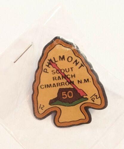 Boy Scout Philmont Scout Ranch 50th Anniv Pin - Carl Marchetti Collection