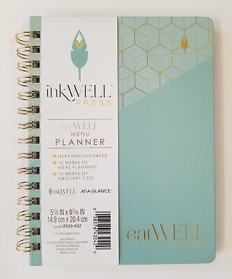 At-a-glance Inkwell Meal Menu Planner Ip619-602