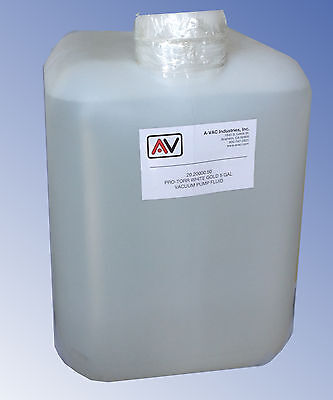 Vacuum Pump Oil 5 Gallons Welch Edwards Leybold Alcatel Varian.