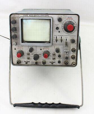 Tektronix 422 15mhz Portable Oscilloscope Read