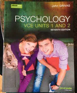 Psychology book in victoria gumtree australia free local classifieds psychology vce units 1 and 2 ebook plus 7th edition fandeluxe Gallery
