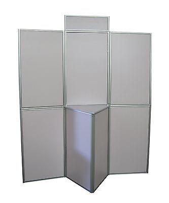 7,5 panel Faltwand - Messewand - Displaywand - NEU