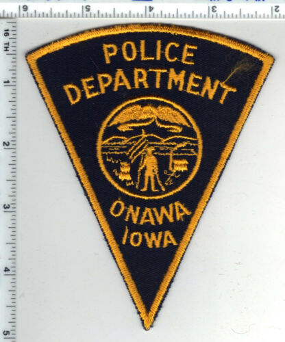 Storm Lake Police (Iowa) Uniform Take-Off Shoulder Patch - new