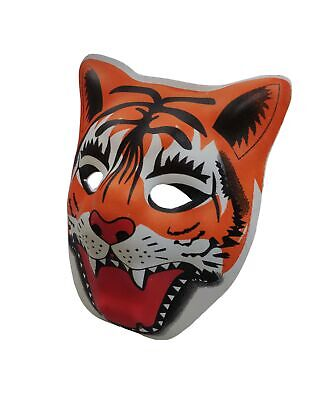PVC Mask Costume Accessory Child Kids Adult Jungle Animal Holloween](Childrens Holloween Costumes)