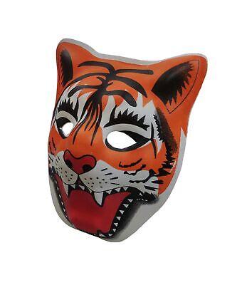 PVC Mask Costume Accessory Child Kids Adult Jungle Animal - Children Holloween Costumes