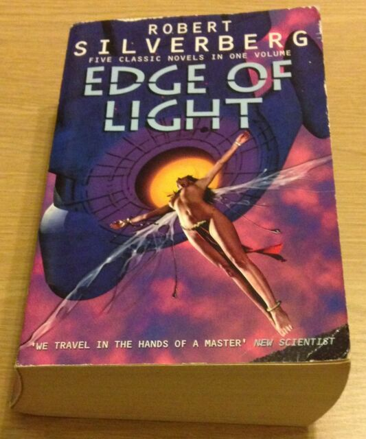 EDGE OF LIGHT Robert Silverberg Book (Paperback)