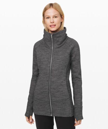 Lululemon Women's Radiant Jacket HCDG Heathered Core Dark Grey