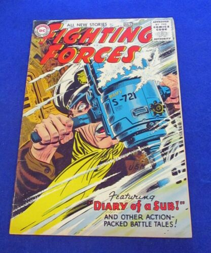 Our Fighting Forces #11 Silver Age