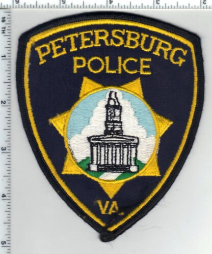 Petersburg Police (Virginia) Shoulder Patch from the 1980